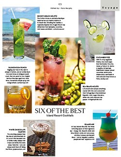Show Boats International Six of the Best Cocktails